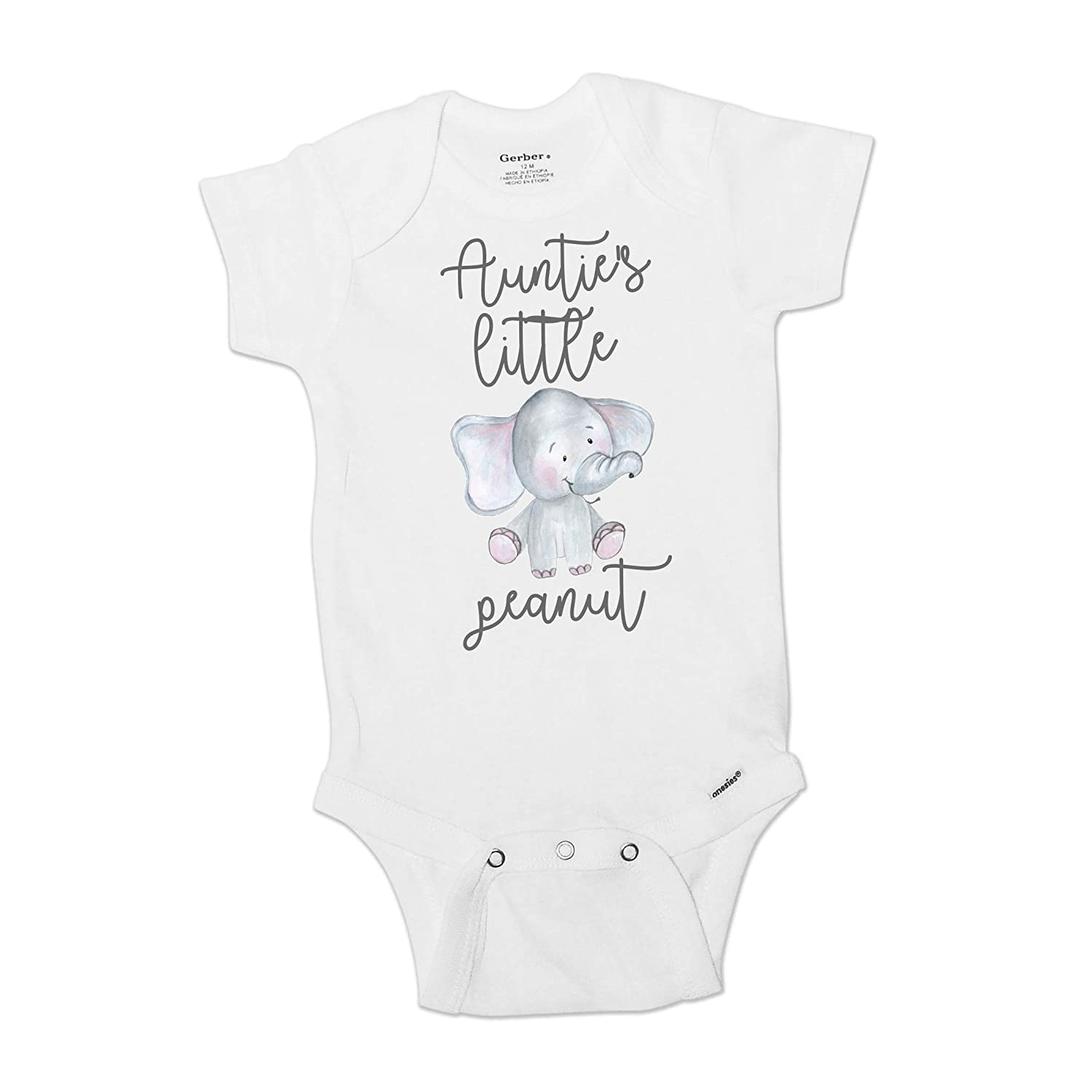 Cute and funny baby boy or girl peanut romper Little peanut baby clothes Modern baby clothes. many colors available
