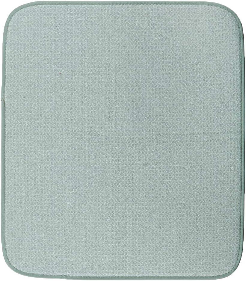 F Fityle Tapis /à Vaisselle Microfibre Tapis de S/échage Rapide Tapis de Couverts Beige