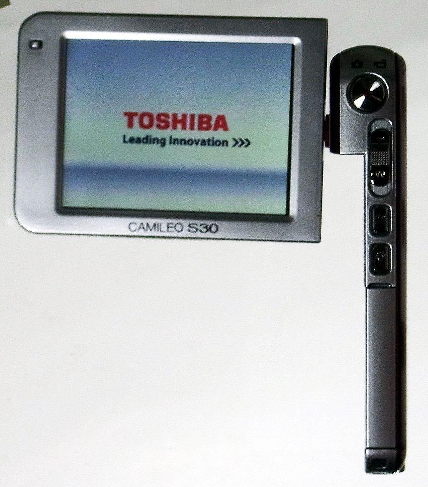 Toshiba FullHD 1080p SDXC Camcorder S30 PX1744E-1CAM: Amazon.co.uk: Camera  & Photo