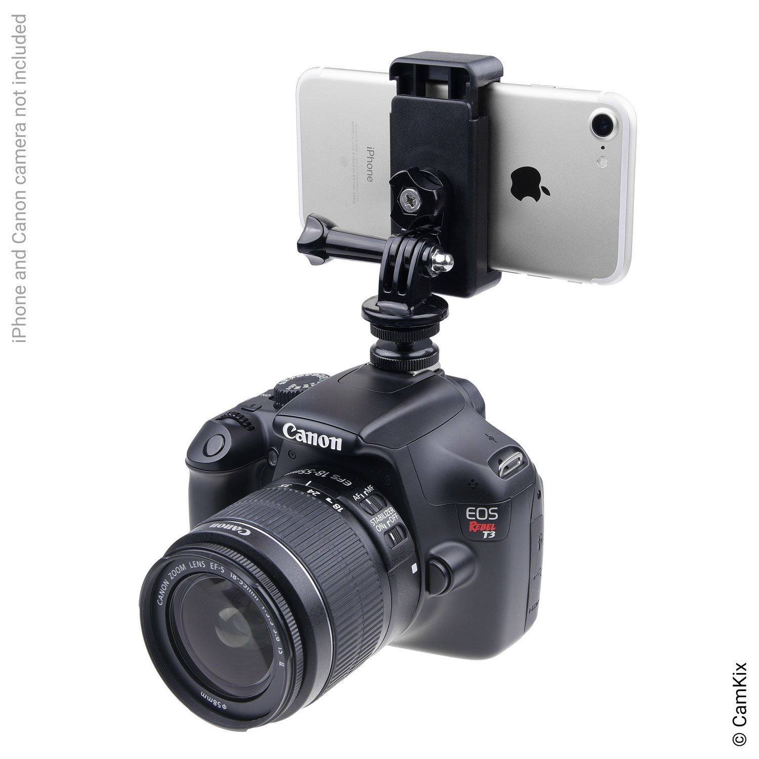 Hot Shoe Mount Adapter Kit - Attach Your Phone or GoPro Hero