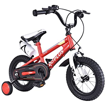 2b4aa4f68ba Buy Goplus BMX Freestyle Kids Bike Boy's and Girl's Bicycle with Training  Wheels Perfect Gift for Kids, 16