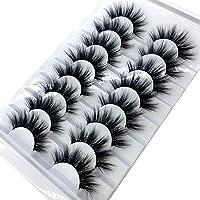 HWNGDI Nya 8 par 15-20mm naturliga 3d falska ögonfransar falska fransar Makeup Kit Mink Lashes Extension Mink Eyelashes…