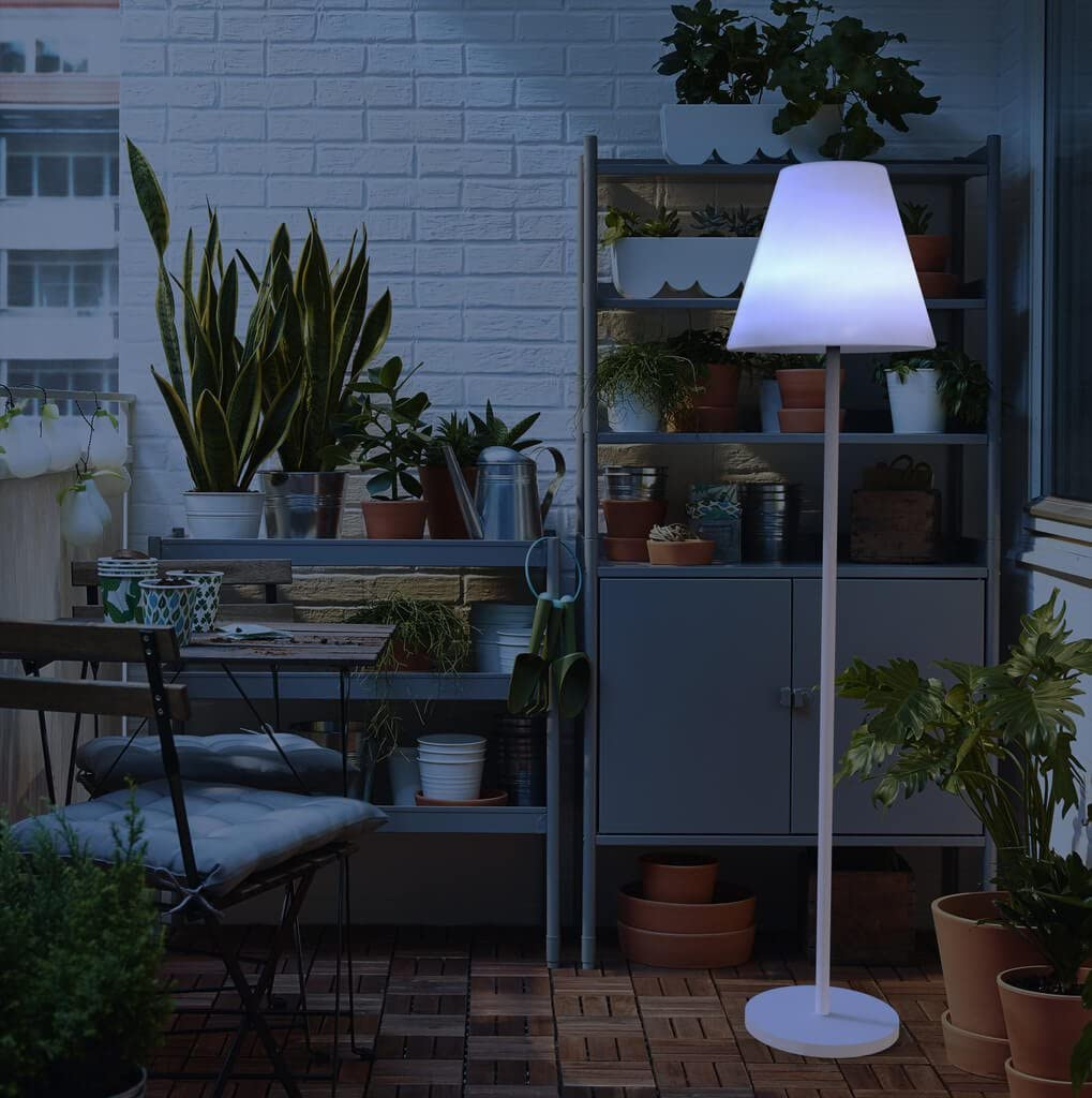 Datalight Ambiente Lola No 1 Led Floor Lamp Acrylic Ambiente Stehleuchte Lola No 1 Led 100 Cm Warmweiss 100 X 30 X 30 Cm Amazon Co Uk Lighting