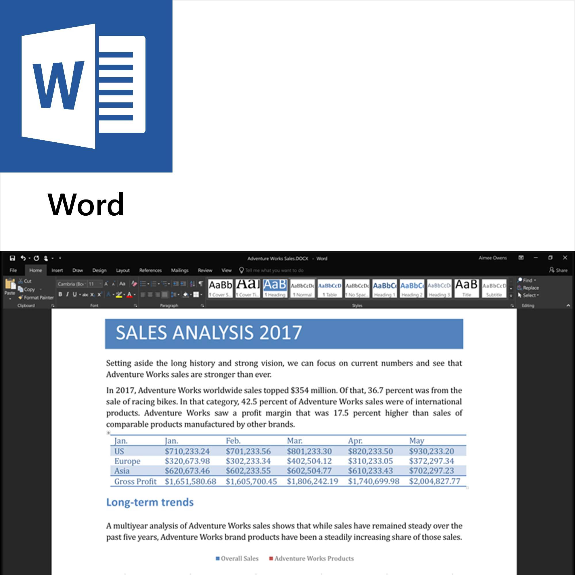 download word 2017 windows 10