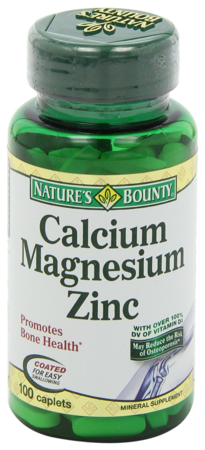 Nature's Bounty Calcium Carbonate Pills with Magnesium and Zinc Mineral Supplement, Supports Bone Strength and Health, 1000mg, 100 Caplets by Nature's Bounty (Image #10)