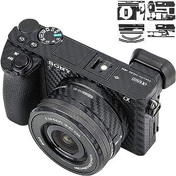 Adhesivo de protección antiarañazos para cámara Sony Alpha A6500 + ...