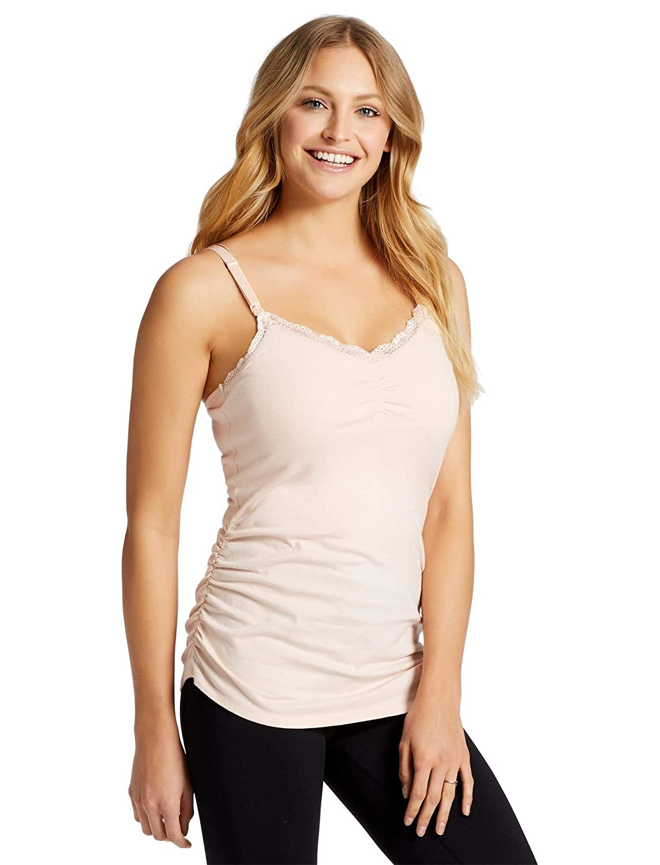 0bc6209769c Motherhood Maternity Jessica Simpson Clip Down Shelf Bra Nursing Cami Pink:  Amazon.ca: Clothing & Accessories