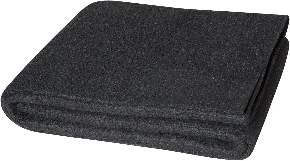 STEINER 317-6X8 Welding Blanket,8 ft W,6 ft.,Black