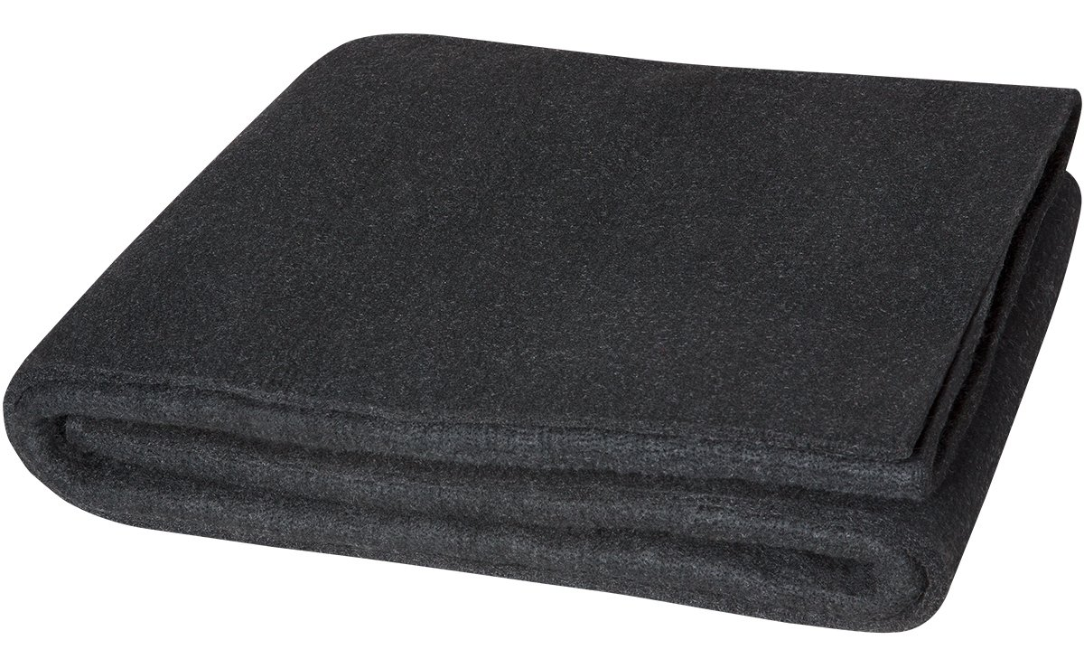 Steiner 317-6X8 Velvet Shield HD 24-Ounce Black Carbonized Fiber Welding Blanket, 6' x 8'