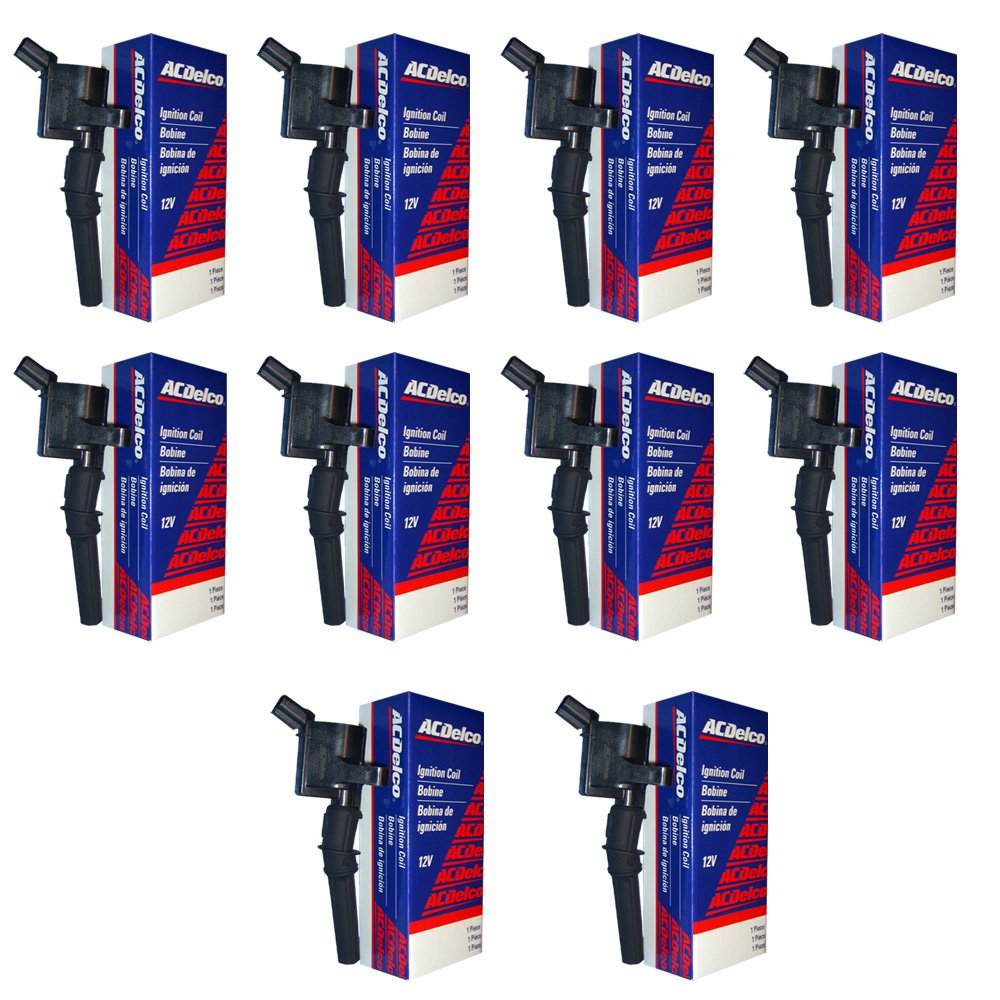 New ACDELCO Ignition Coil Set (10) DG508 F523