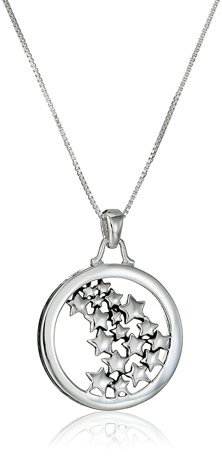 Amazon sterling silver live your own life follow your own star amazon sterling silver live your own life follow your own star multiple star pendant necklace 18 jewelry aloadofball Choice Image