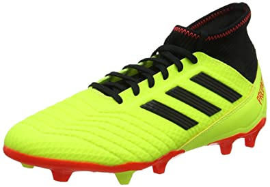 sports shoes 43cde de201 adidas Predator 18.3 FG, Chaussures de Football Homme, Jaune (AmasolNegbás