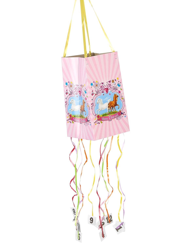 DYNASTRIB MON Cheval 1 piñata flexible 9003985 multicolor, 30 x 18 ...