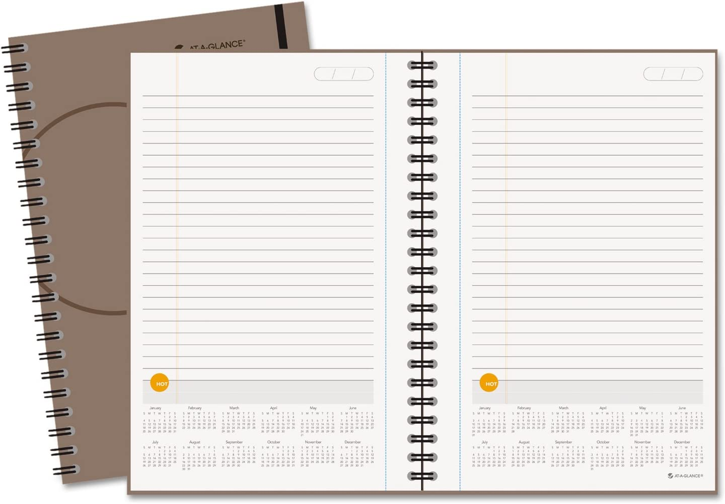 Plan.Write.Remember. AT-A-GLANCE Planning Notebook with Reference ...