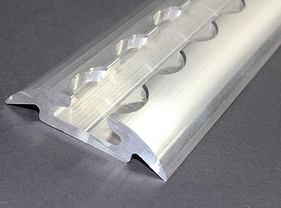 LABT Airlineschiene 0,5m halbrunde Form gebohrt Zurrschiene Ladungssicherung Aluminium vorgebohrt 0,5 m