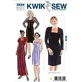 Kwik Sew K2834 Dresses and Boleros Sewing Pattern, Size XS-S-M-L-XL