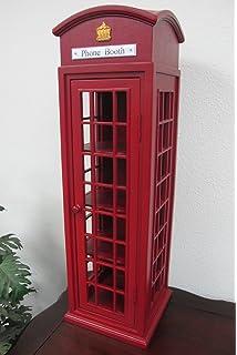 Home Accents Mahogany London Mini Telephone Display Storage Case