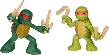Teenage Mutant Ninja Turtles, Ninjas in Training Michaelangelo and Raphael Action Figures