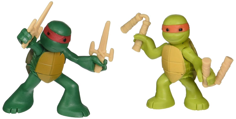 Figura de acción de Mike and Raph de Las Tortugas Ninja en ...
