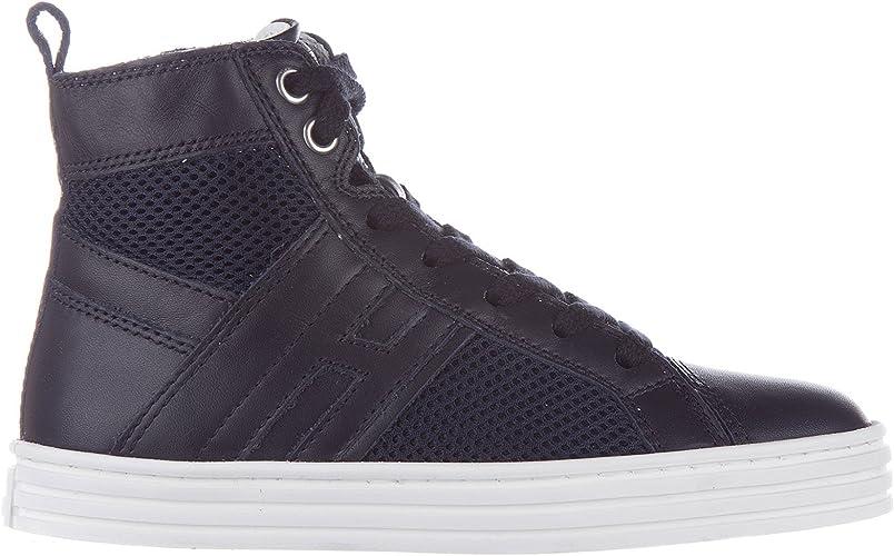 special sales uk cheap sale good Amazon.com | HOGAN REBEL Baby R141 high top Sneakers blu 10.5C US ...