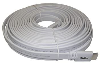 SAC Electronics AE0536 - Cable HDMI (15 m), blanco