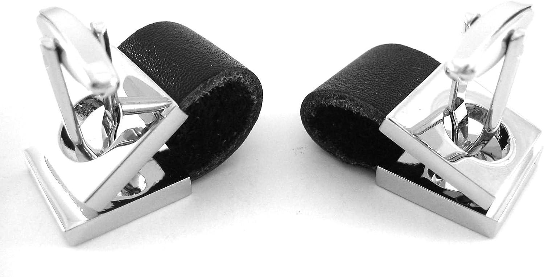 Procuffs Buckle Up Black Wrap Around Cufflinks Wedding Gift