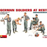 "Miniart 1:35 Scale ""German Soldiers at Rest"" Plastic Model Kit"