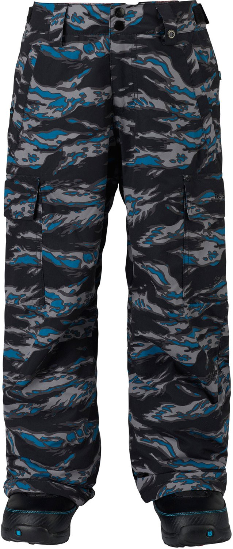 Burton Boys Exile Cargo Pants, Mountaineers Beast, X-Large
