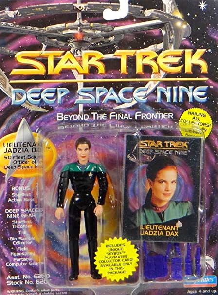 Deep Space Nine 4.5 Lieutenant Jadzia Dax in Starfleet Duty Uniform Star Trek