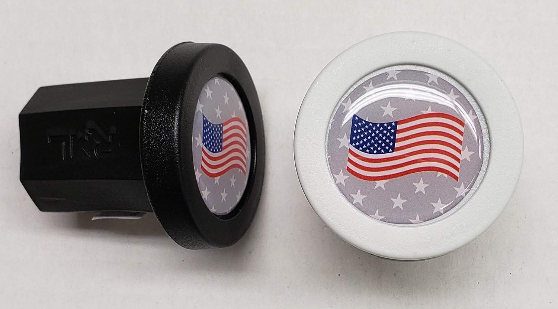 729c4278efe3c Amazon.com   Rocket Mesh Lacrosse TapeSaver Butt End End Cap (2-Pack)  (American Flag)   Sports   Outdoors