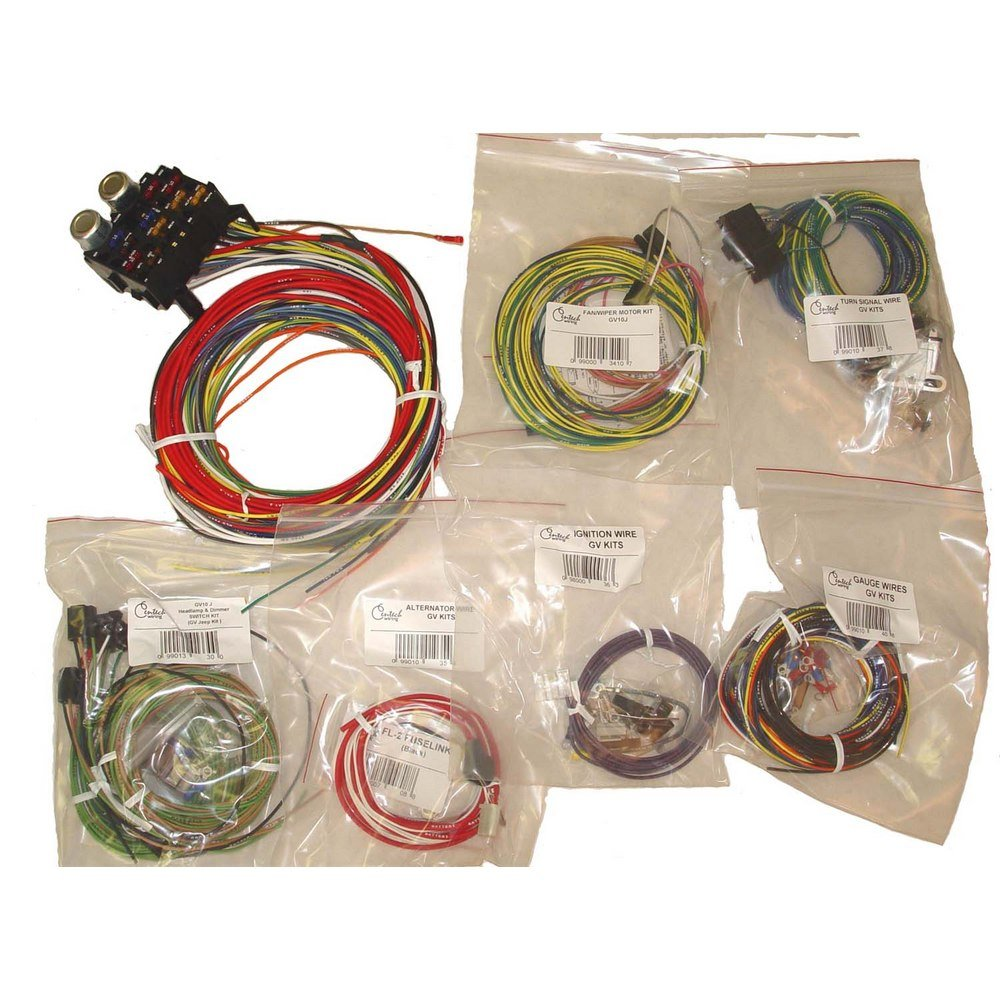 Omix Ada 1720301 Wiring Harness Automotive Car Bulkhead Grommet