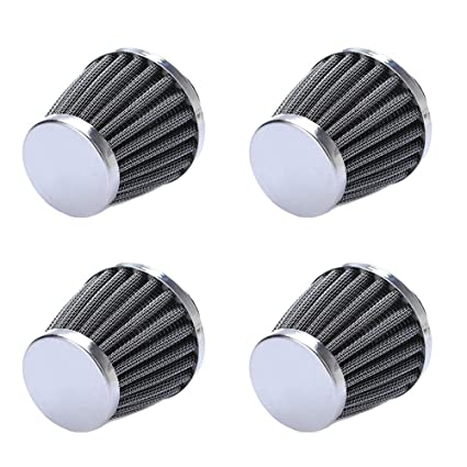 Amazon.com: HOUTBY 4Pack 60mm Universal Car Motorcycle Cone Cold Clean Air Intake Filter Turbo Vent: Automotive