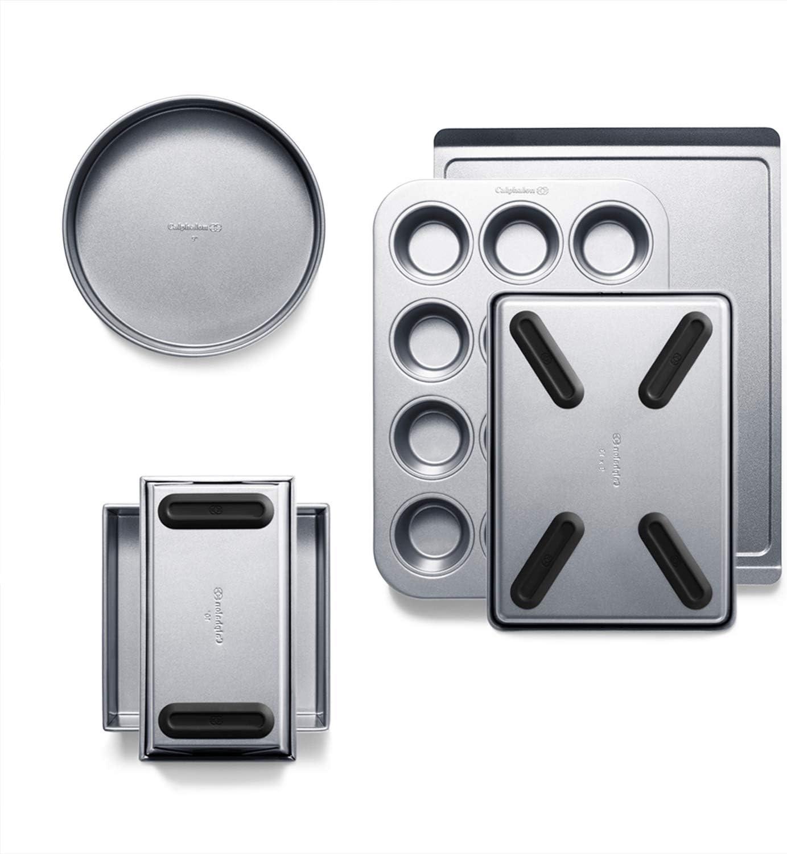 Calphalon 2065318 Premier Countertop Safe Bakeware 6 Piece Set, 6-Piece Set