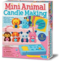 4M- Mini Animal Candle Making: Arte con Pintura