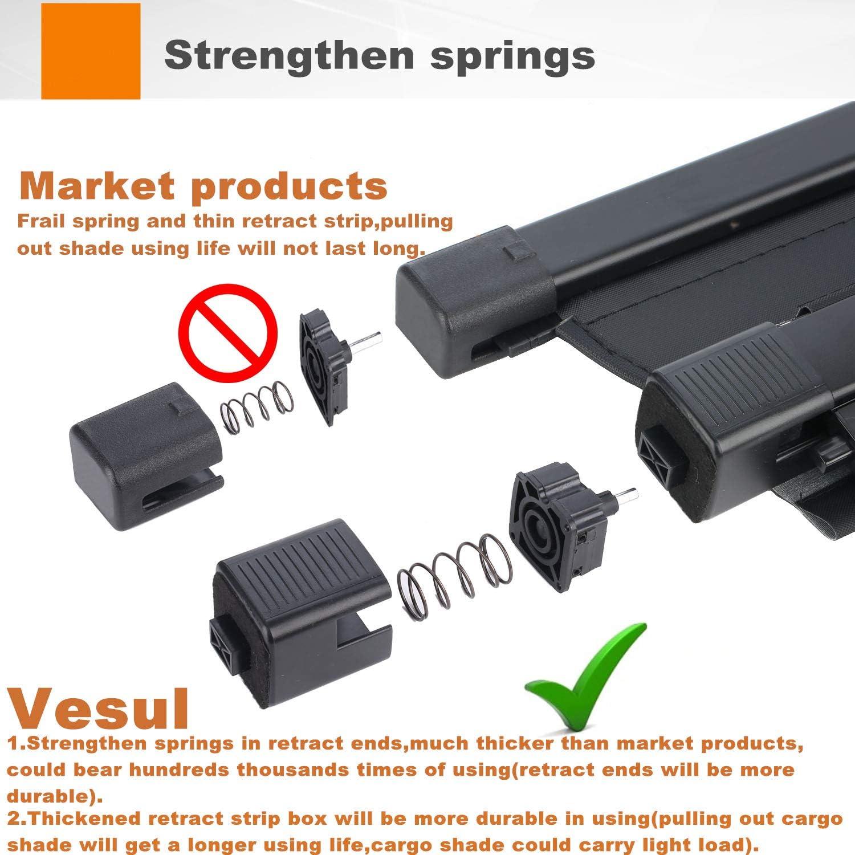 Vesul Armrest Secondary Storage Box Glove Pallet Center Console Tray Fits on Nissan Maxima 2016 2017 2018 2019 2020