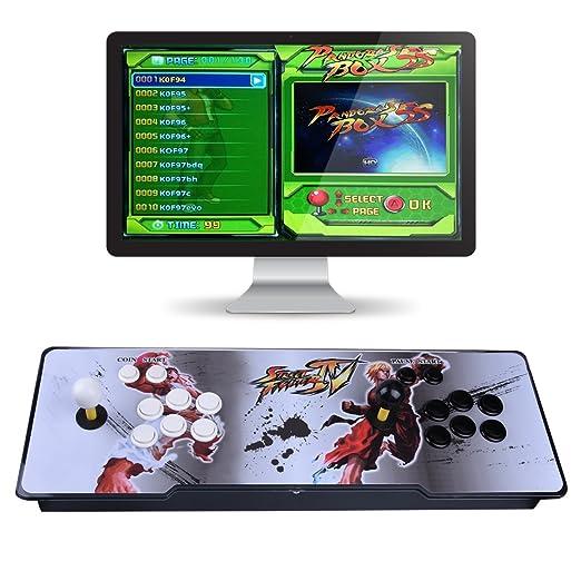 XSC 1000 + juegos clásicos arcade de la máquina de arcade de la consola 2 reproductores