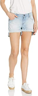 product image for James Jeans Women's Shorty Slouchy Fit Boy Shorts in Subculture