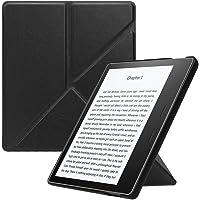 Fintie Kindle Oasis 2017 Funda - Standing Origami Slim Shell Case Funda Carcasa con Stand Función y Auto-Sueño/Estela para Amazon Kindle Oasis (9ª generación, Modelo de 2017), Negro