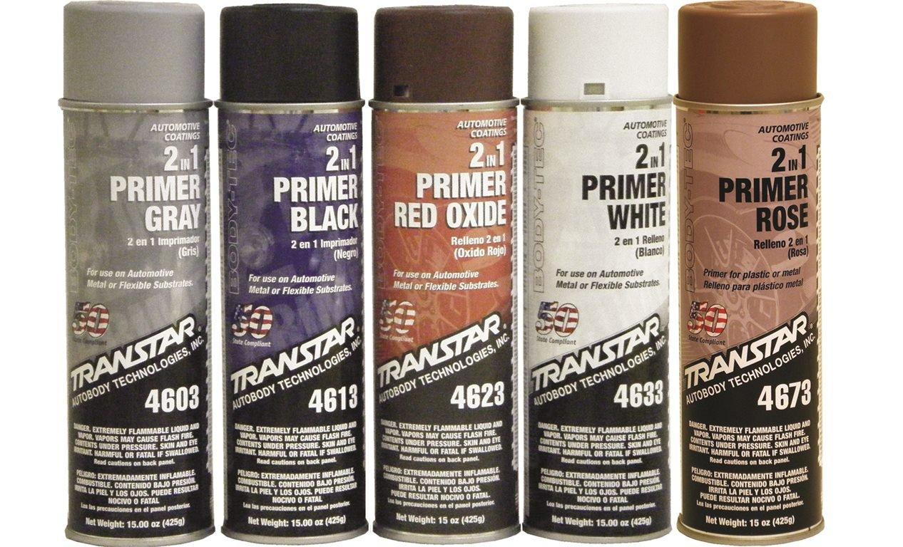 Transtar 4603 Gray 2-in-1 Primer - 20 oz.