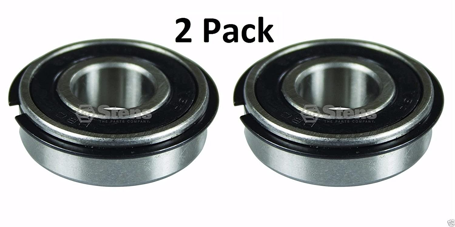 2 Pack Stens 230-404 Bearing for Cub Cadet MTD 941-0563 741-0563 Troy Bilt White