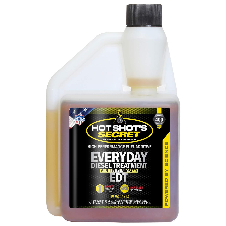 Hot Shot's Secret HSSEDT16ZS Everyday Diesel Treatment - 16 fl. oz. Hot Shot' s Secret