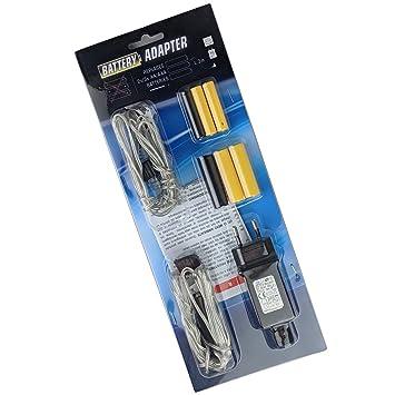 Batterieadapter AA und AAA Batterien durch Netzteil ersetzen Batterie  Adapter Netzteil statt Batterie 0526b12a6a03b