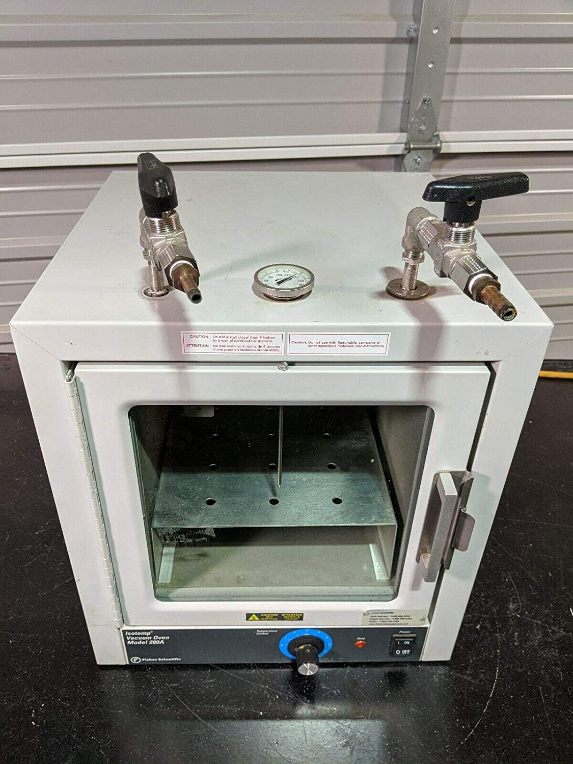 labtechsales Fisher Scientific 280A Isotemp Vacuum Oven 13-262-280A Fully Tested/Guaranteed