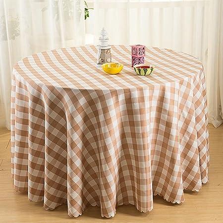 celosía de Color Mantel mesa Redonda Mesa de centro Mesa de ...