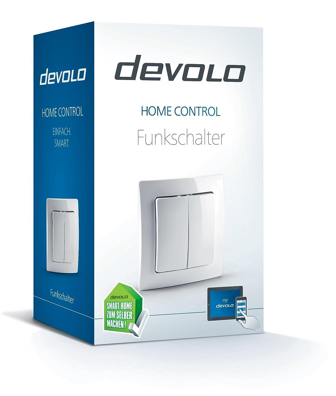 devolo Home Control Funkschalter (Z-Wave Hausautomation ...