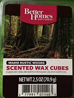 Amazoncom Better Homes and Gardens Crisp Fall Leaves Wax Cubes