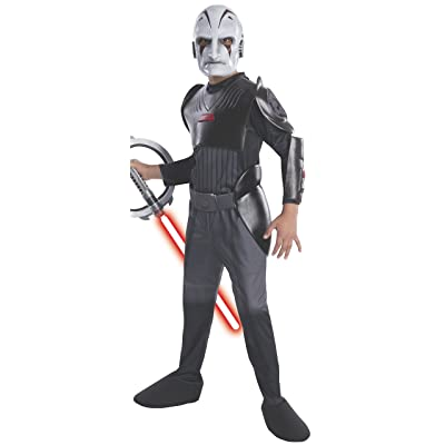 Rubie's Star Wars Rebels Deluxe Sith Inquisitor Costume, Child Medium: Toys & Games