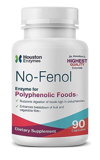 Amazon.com: Houston enzimas no-fenol – 90 Cápsulas W/relleno ...