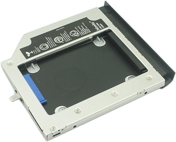 nimtz 2 nd HDD SSD Caddy de Disco Duro Para Lenovo Thinkpad E550 C ...