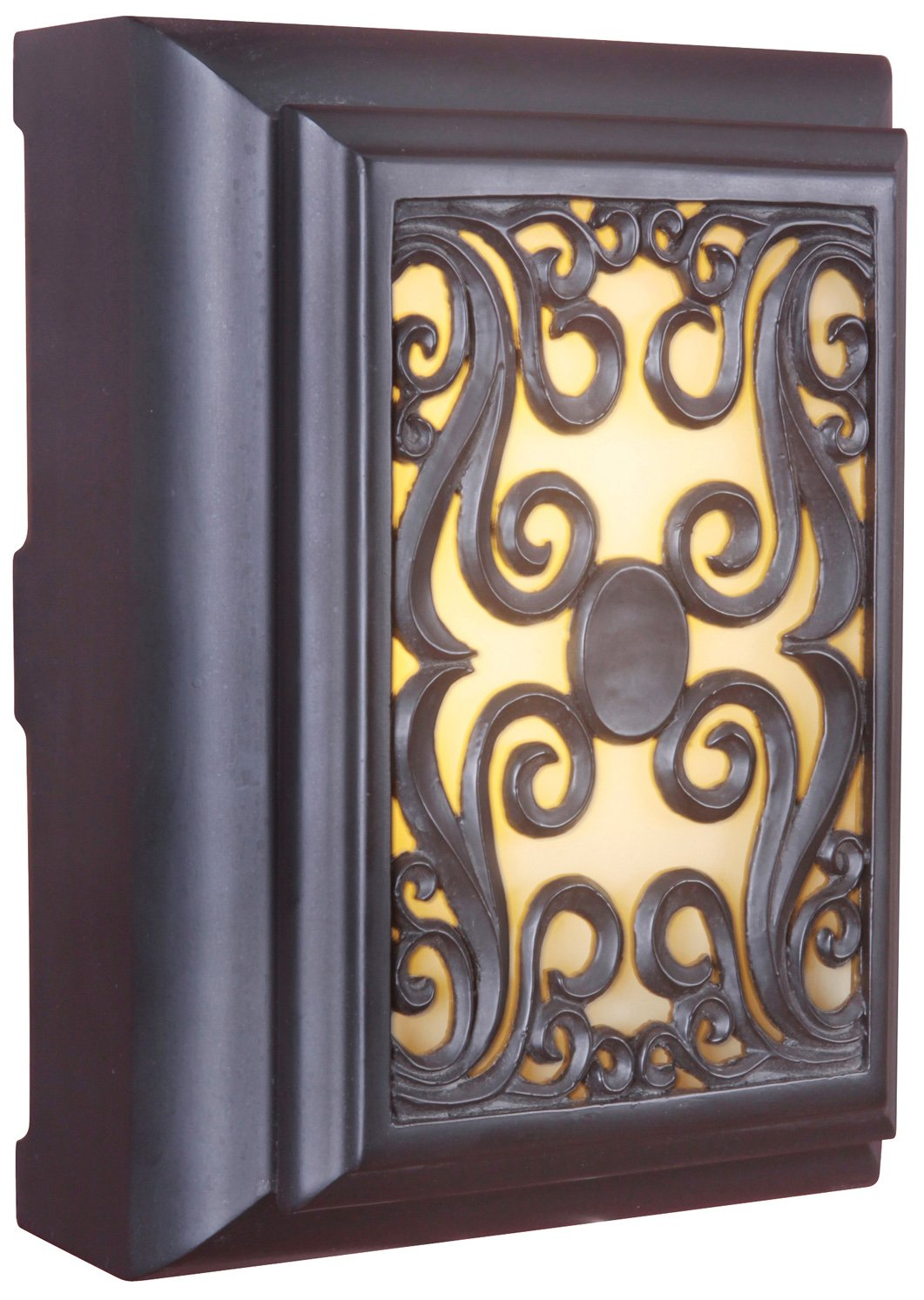 Craftmade ICH1630-OB Framed Scroll Lighted Chime by Teiber